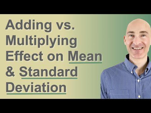 Adding Vs. Multiplying Effect on Median and Standard Deviation