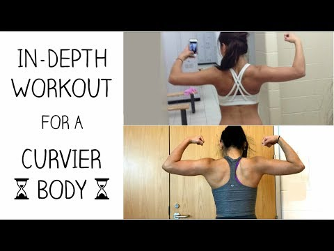 WORKOUT FOR A HOURGLASS FIGURE | How to get a Curvier Upper Body