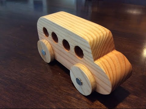 How to Make a Wooden Car! | DIY Project