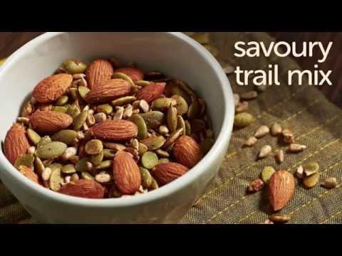 Savoury Homemade Trail Mix (Gluten and Sugar Free)