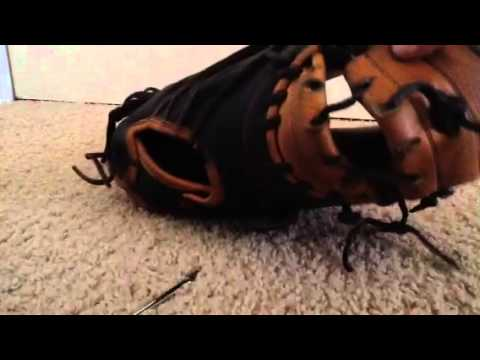 How to Lace the web of a Catchers Mitt