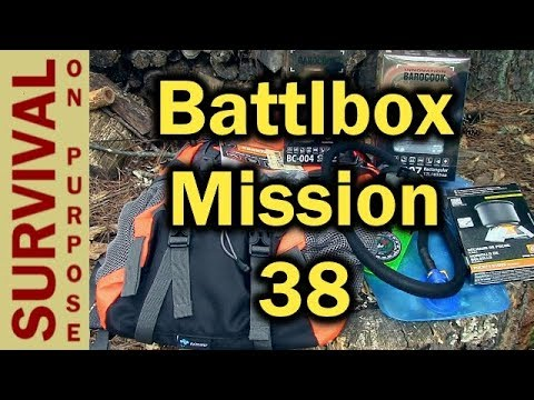 Battlbox Mission 38 Unboxing - Day Hiking and Backpacking