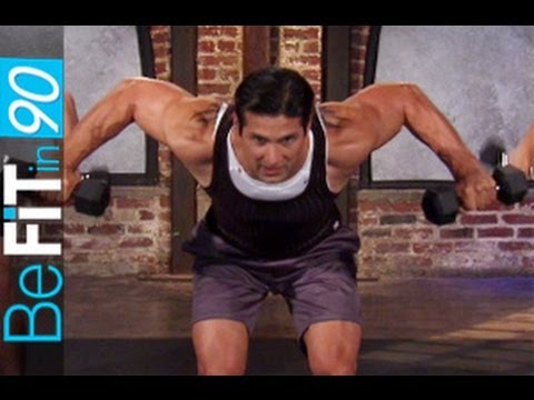 Back & Shoulders Workout by BeFit in 90