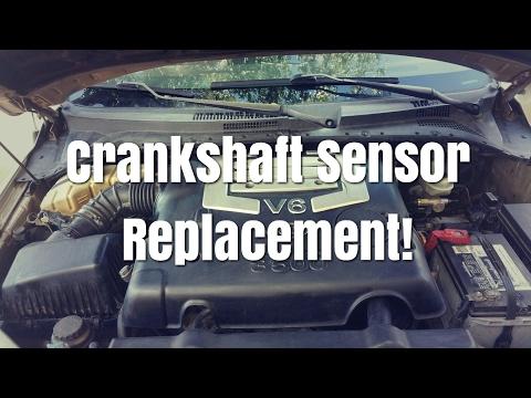 2002 - 2006 Kia sorento crankshaft sensor replacement
