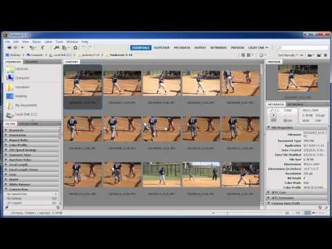Import and Manage Images Using Adobe Bridge CC