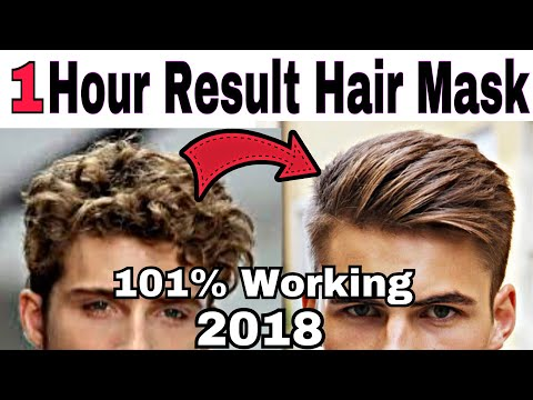 How To Get Smooth Silky Hair in Just one hour at Home   nautral hair mask for hair growth