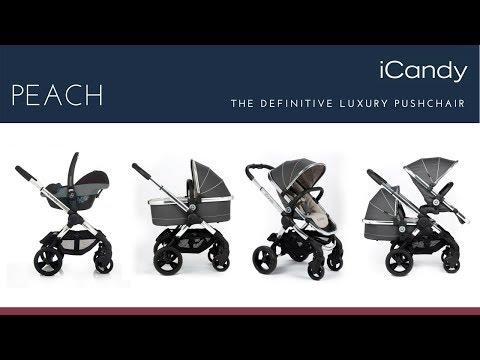 iCandy Peach Pushchair Store Demo - Direct2Mum