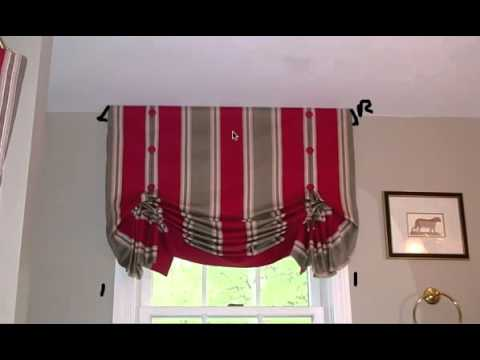 HOW TO SEW A RELAXED ROMAN SHADE