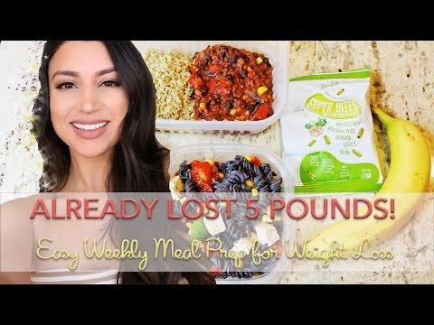 EASY MEAL PREP FOR WEIGHT LOSS - VEGAN & GLUTEN FREE