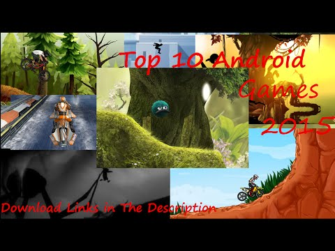 Top 10 Games for Android 2015