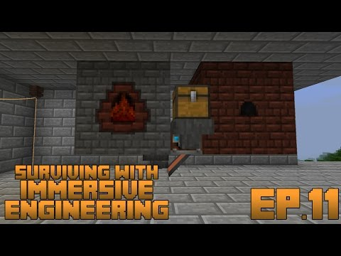 Surviving With Immersive Engineering :: Ep.11 - Automatic Steel Production