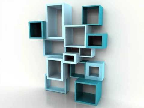Wall Mounted Shelving Picture Ideas | Cool Homemade Bookshelves