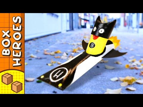 Hero Car - DIY Paper Roll Crafts   Box Heroes on Box Yourself