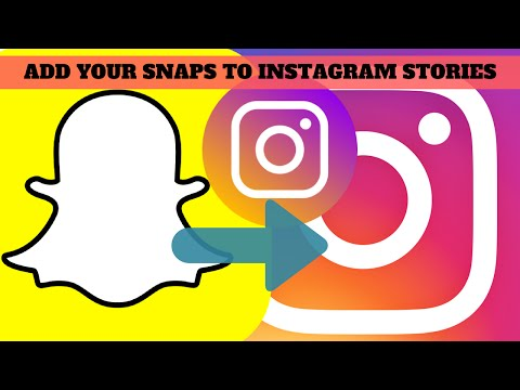 Add Snapchat Snaps To Instagram Stories