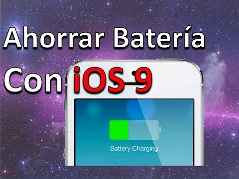 Cómo Ahorrar Batería Con iOS 9 Modo De Bajo Consumo
