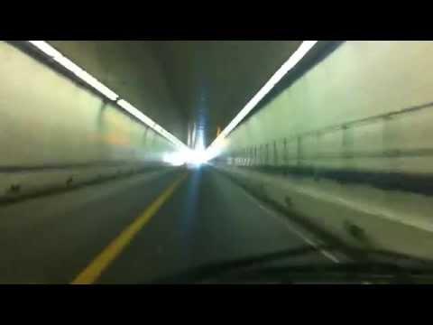 HOT DRIVE ACROSS CHESAPEAKE BAY BRIDGE / TUNNEL PART 3......