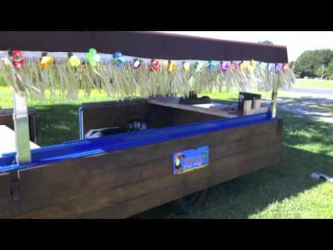 THE OLD MANGO - Tailgating Tiki Bar - BBQ Tailgate Trailer - Kenny Chesney -  Island Boy