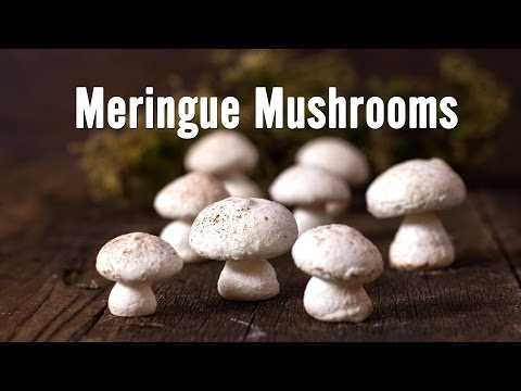 How to Make Meringue Mushrooms