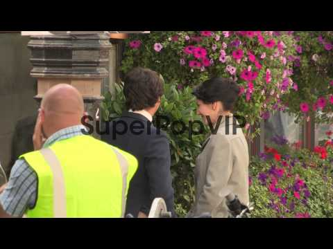 Lord Lucan film set at Celebrity Video Sightings on Augus...