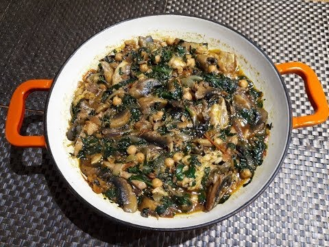 How to prepare Spinach (Nkontomire) Stew