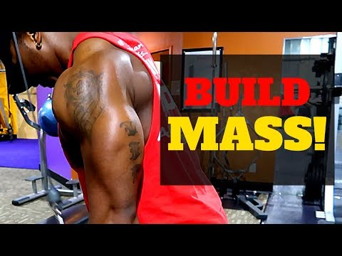 3 Exercises That Will Help You Build Triceps | Gain Mass in Arms