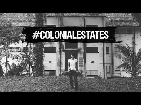 These #colonialestates are black-and-white but full of colour