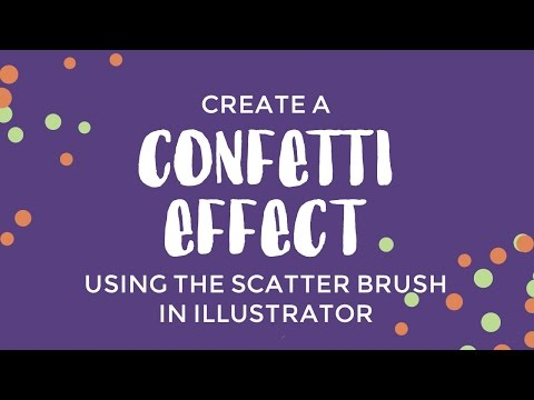 Quick Confetti with a Custom Scatter Brush in Illustrator