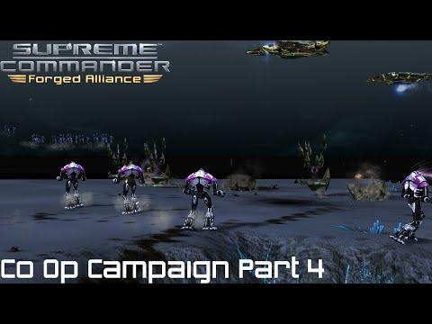 Supreme Commander FAF Forged Alliance Co Op Campaign Part 4