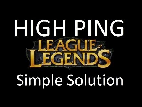 Ingame ping spikes - How to solve high ping mistery spike League of Legends