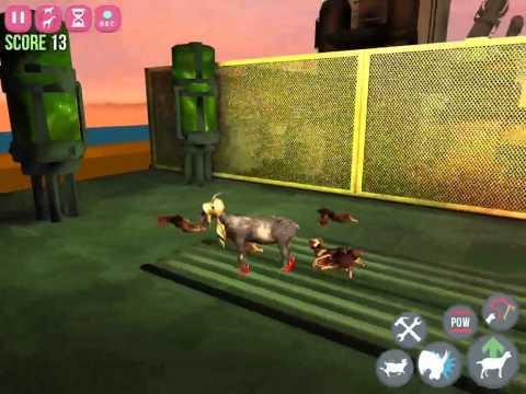 Goat Simulator GoatZ IOS All Goats (So Far) Showcase