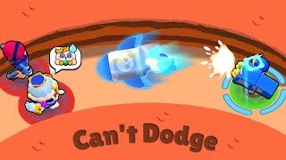 Can't Dodge OP Gadget! 🔥 Funny Moments & Fails, Wins in Brawl Stars