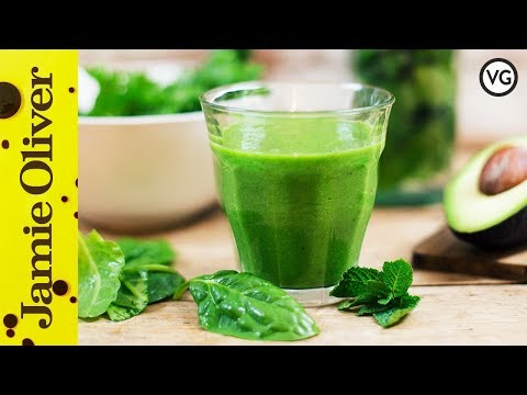 Super Creamy Green Smoothie | Pauline Bossdorf