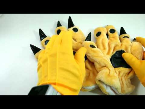 ⏩ 😎 Animal Paws Cosplay 💓 #speedASMR glove video