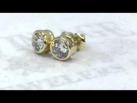 These diamonds sparkle.