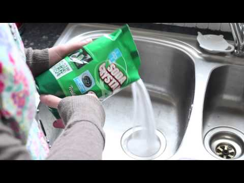 Dealing with blocked drains and sinks