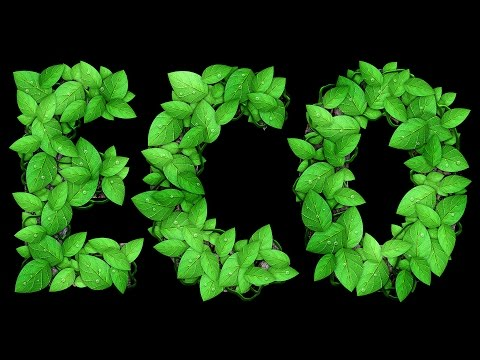 Leafy Text Effect Photoshop Tutorial