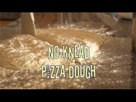 No Knead Pizza Dough. How to make pizza dough. Make pizza bases at home the easy way!