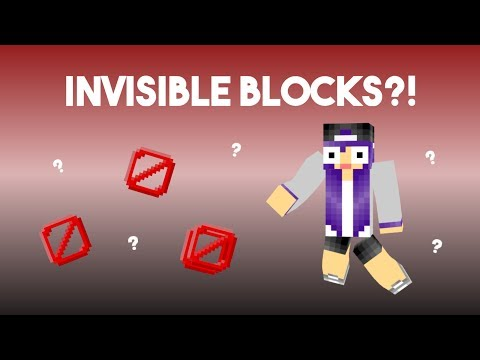 Minecraft: How to Get Invisible Barriers!