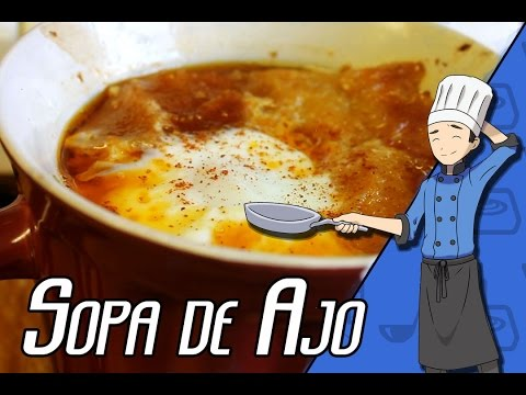 Sopa De Ajo (Spanish Garlic Bread Soup) - 8-Bit Kitchen: 2