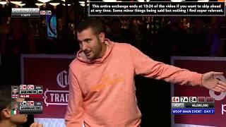 (MAJOR CONTROVERSY!) 11 Left WSOP Main Event 2019