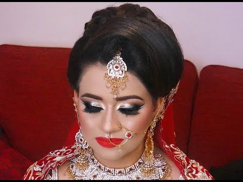 Real Bride | Arabic Asian Bridal Makeup