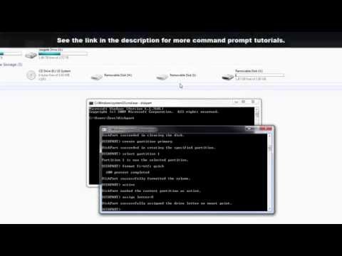 How to Format a USB Flash Drive using Command Prompt in Windows