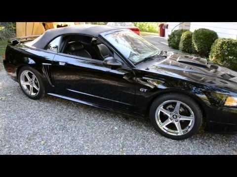 2003 Mustang GT convertible Walk around