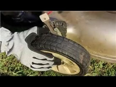 Maintenance for Lawn Care Tools : How to Replace Lawn Mower Wheels