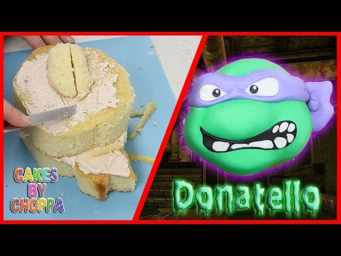 Donatello - TMNT CAKE (How To) || CakesByChoppA