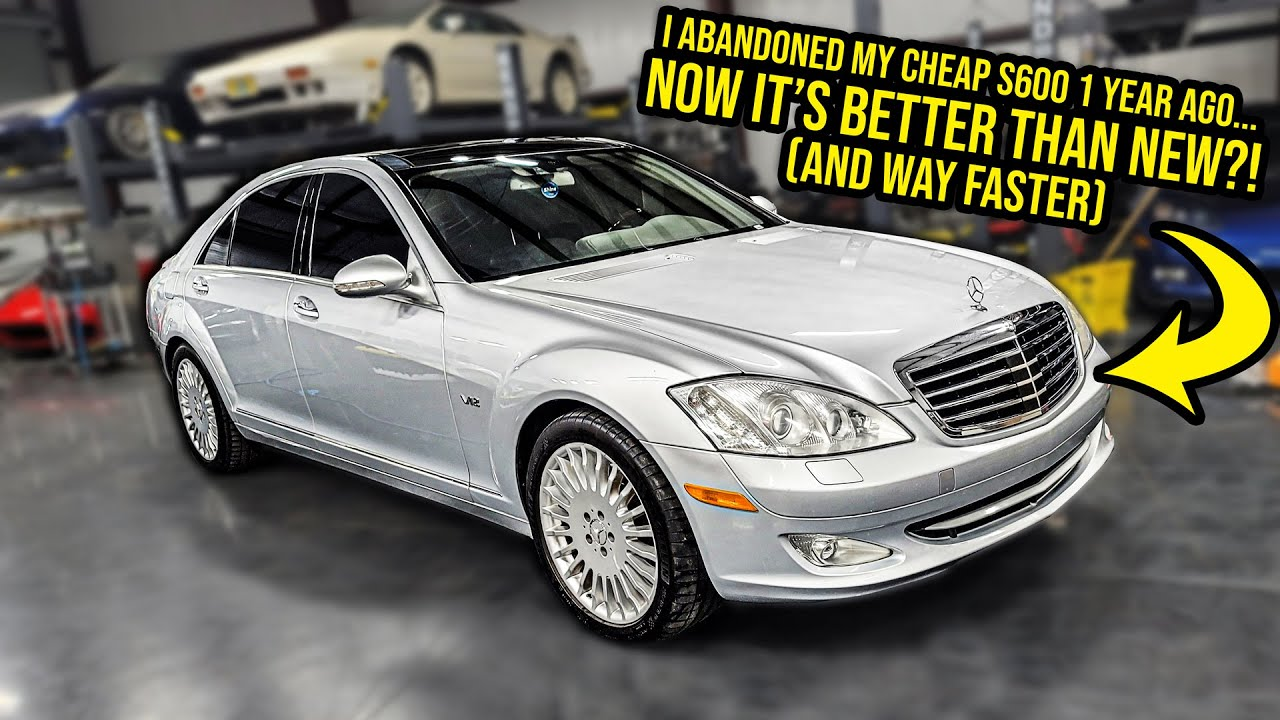 I'm Officially Selling My Cheap Mercedes-Benz S600 (It's BETTER THAN NEW?!)