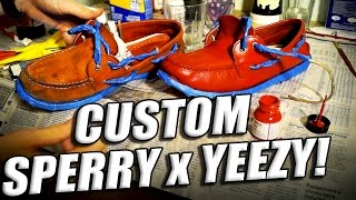 How To Repaint Restore And Customize Boat Shoes Sperry Restoration Tu