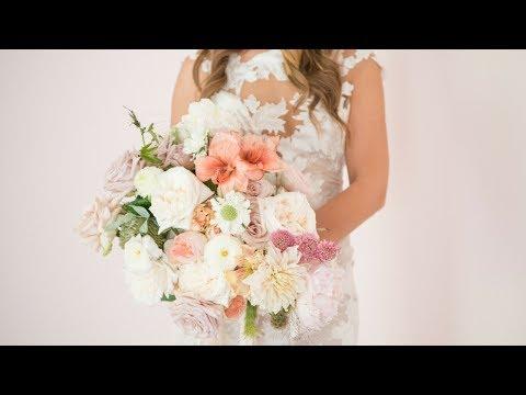Mayesh Design Star: Garden Style Bridal Bouquet
