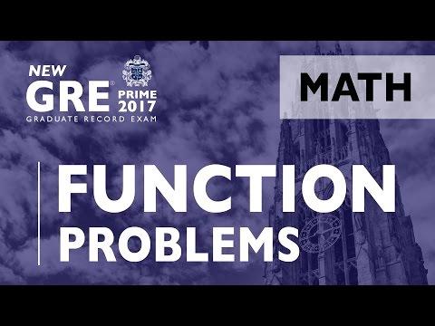 GRE | Algebra - Function Problems | GRE Test Prep | ArgoPrep | GRE Math
