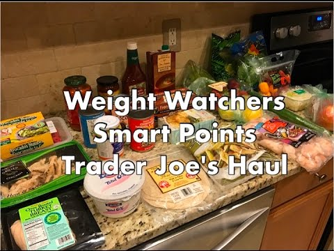 Trader Joe's Grocery Haul with Weight Watchers SmartPoints